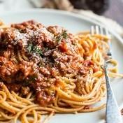 The real spaghetti bolognese della mama