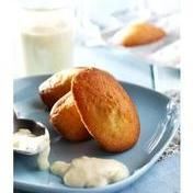 Savory Madeleines with comté, mornay sauce