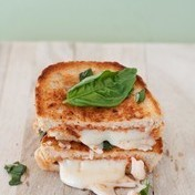 Margherita Grilled Cheese