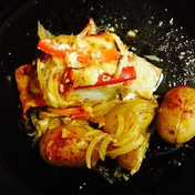 Mayo cod in the oven