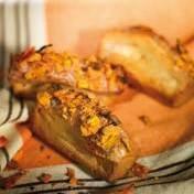 Crunchy topped carrot cake sliders
