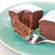 Flour-free molten chocolate cake
