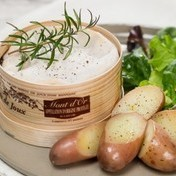 Roasted Mont d'Or cheese with white wine