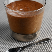 Chocolate-praline mousse