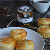 Apricot jelly muffins