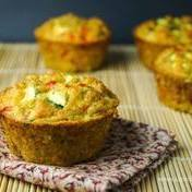 Savory quinoa-vegetable muffins