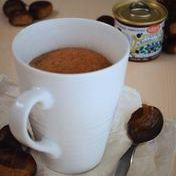 Chestnut cream mug cake