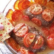 Meat and Tomato Bread