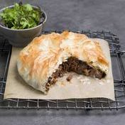 Beef cheek pastilla with fresh herb salad