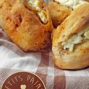Small chorizo and goat cheese rolls