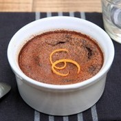 Petits pots (mini baked creams) chocolate-orange