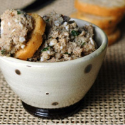 Orange Sardine Rillettes
