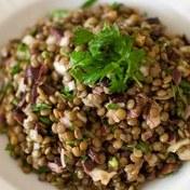 Good old lentil salad
