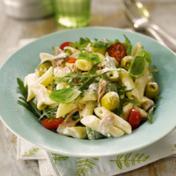 Italian salad with mayonnaise