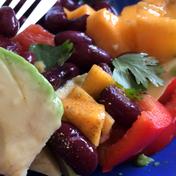 Vegetarian Mexican salad