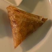 Spiced lamb samosa