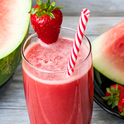 Strawberry-watermelon smoothie