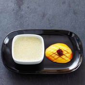 Tapioca with coconut milk and mango compote