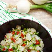 Cod tartare and chorizo by Beauty Archi