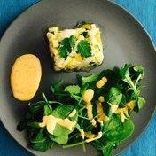 Spring scallop tartare