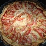 Andrea's tomato pie