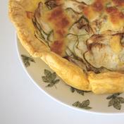 Garden zucchini tart