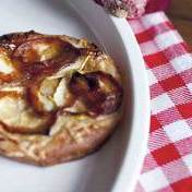 Caramelized red onion tart