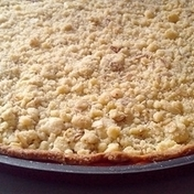 Lemon crumble-tart