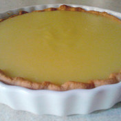 Sweet lemon tart