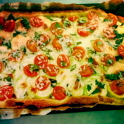 Summer vegetable pie