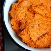 Chorizo and bell pepper spread
