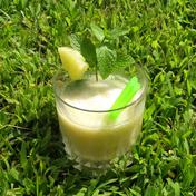 Pineapple mint green tea