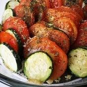 Tomato and Zucchini Tian