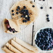 Vegan Cardamom Pancakes