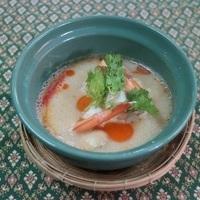 Soupe thaïlandais à la noix de coco