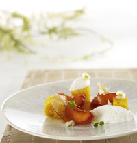 Roasted apricot