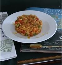 Arroz con Pollo al Achiote (ou le riz & poulet au roucou)