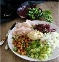 Assiette Complète façon Buddha Bowl