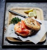 Bagel au saumon fumé