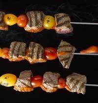 Banderilles de bœuf, sauce diabolique