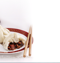 Banh Bao (steamed pork bun)