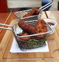 Bâtonnets de poulets panés