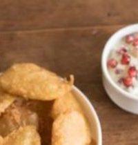Beignets de pomme de terre et patate douce