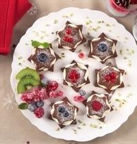 Biscuits au cacao et à la crème de mascarpone Galbani