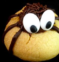 Biscuits sablés araignées {Halloween}