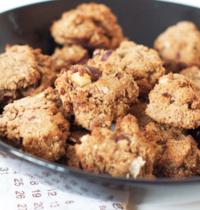 Biscuits vegan et sans gluten aux noisettes