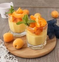 Blanc-manger abricot amandes