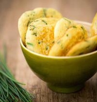 Blinis salés ciboulette-fromage frais