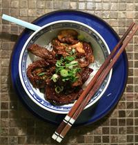 Bœuf mariné à la coréenne