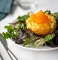 Bouchées de carottes au fromage